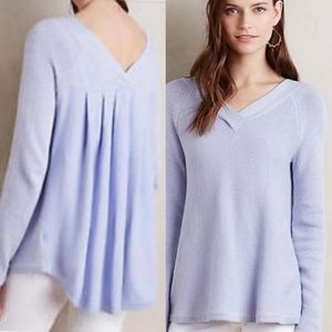 ANTHROPOLOGIE KNITTED AND KNOTTED knit Vneck